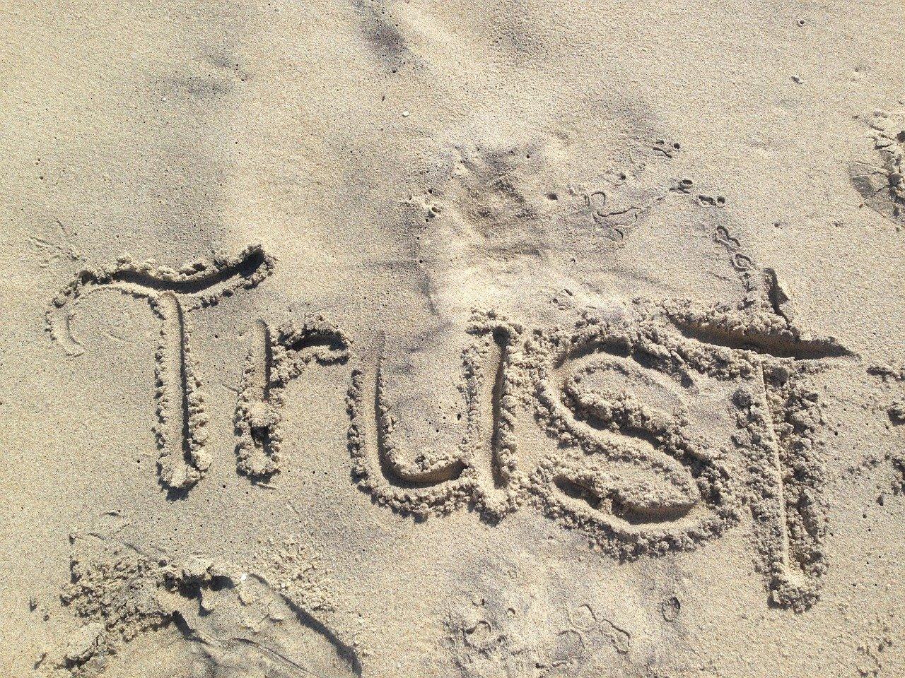 das gegenteil von vertrauen